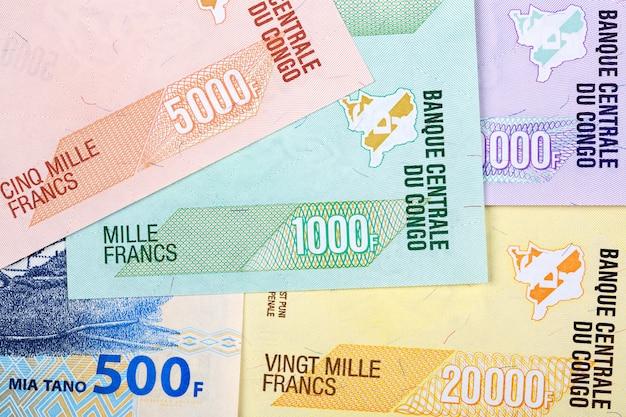 コンゴ民主共和国からのお金