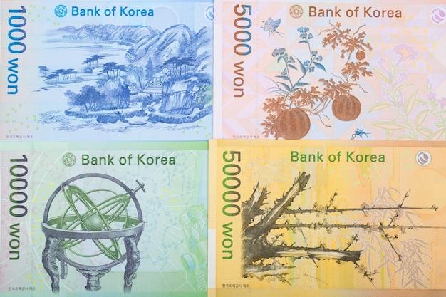 Южнокорейские деньги