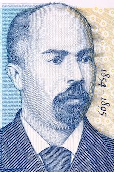 Иллюстрация стефана стамболова из болгарских денег