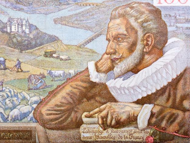 Максимилиан де бетюн портрет из старых французских денег