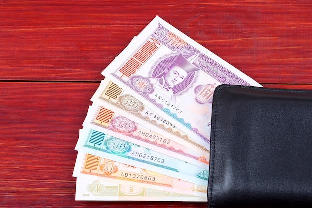 モンゴルからのお金