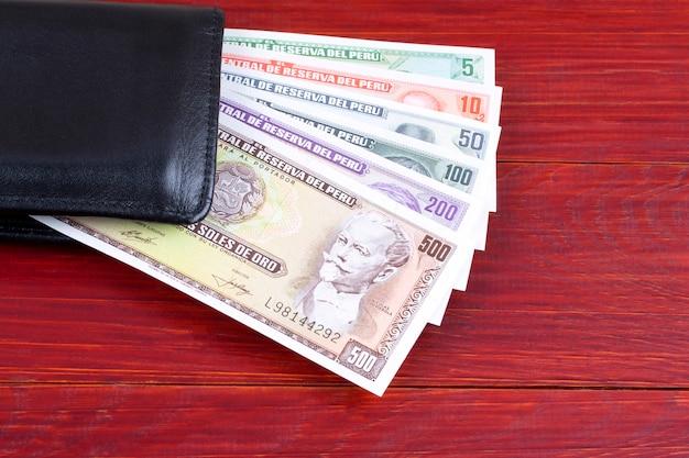 Старые перуанские деньги