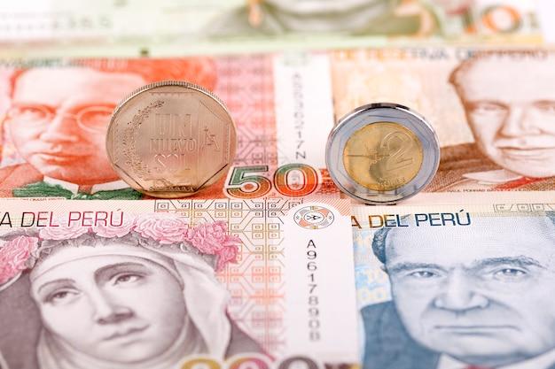 Монеты перуанской соли