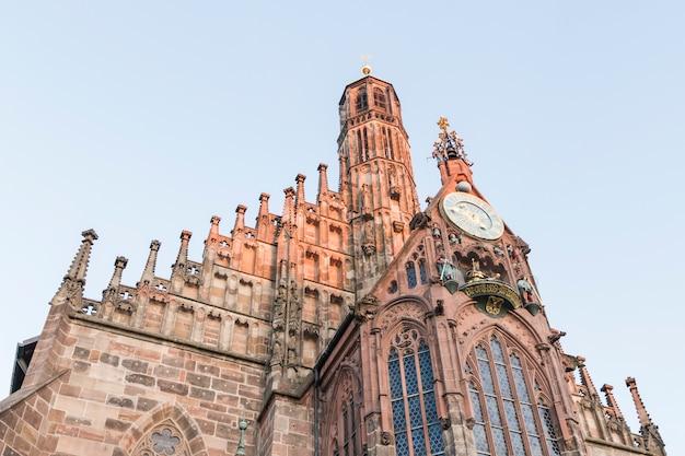 ドイツ、バイエルン、ニュルンベルクのフラウエン教会