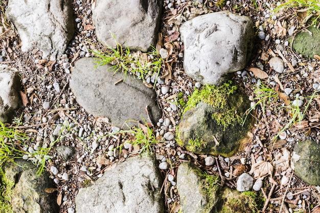 背景画像としての小石のテクスチャ