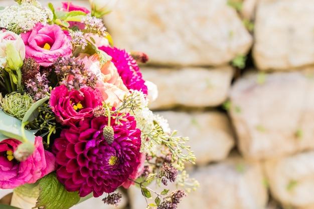 ブライダルブーケ結婚式の日