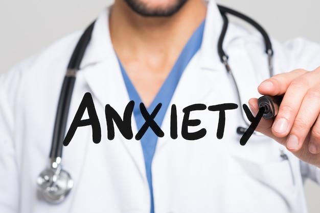 医者は不安という言葉を書いています