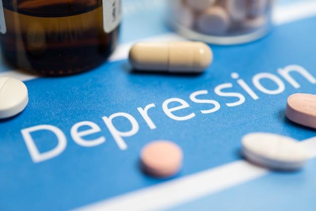 うつ病関連の文書や薬物