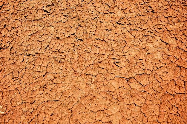 Текстура сухой почвы, концепция глобального потепления