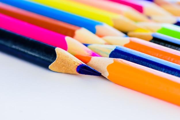 クローズアップ、色鉛筆、