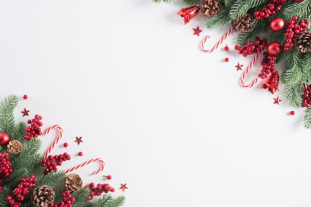 クリスマス休暇組成背景コンセプト