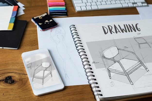 ファッションデザインに使用されるツールと材料