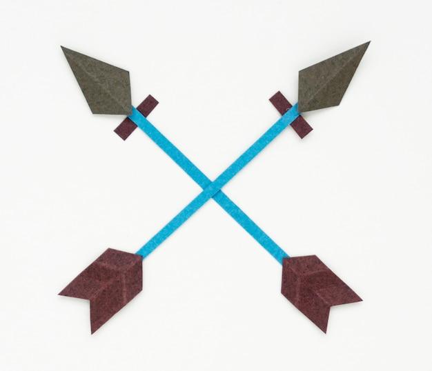 弓アーチェリーアイコンのシンボルのイラスト