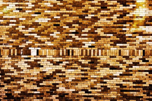 レンガの壁の装飾のデザインの壁紙