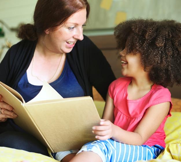 母親の娘への読書