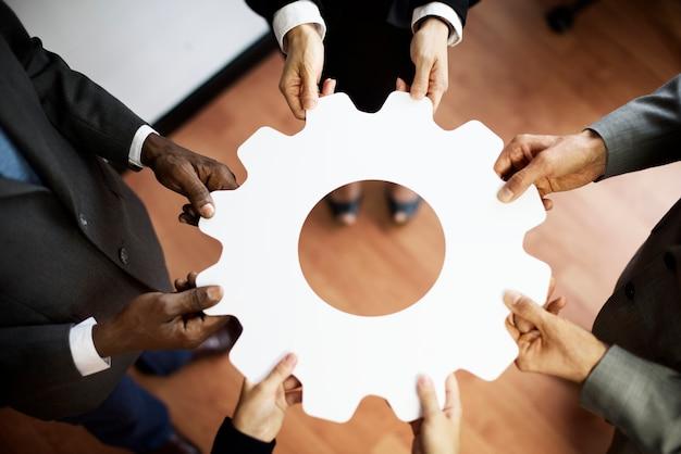 Разнообразные коллеги по бизнесу
