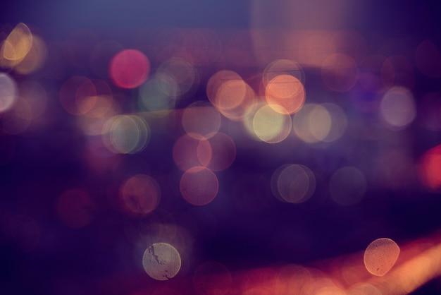 見事なぼやけた光の抽象