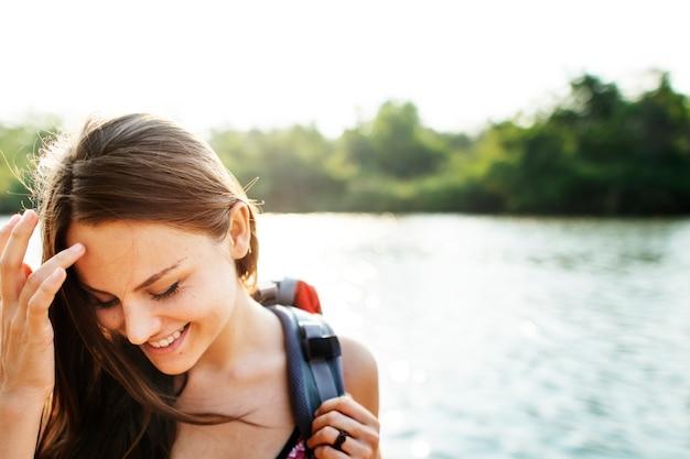 Женщина-путешественница