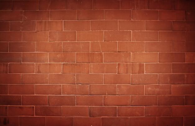 煉瓦壁のテクスチャ背景