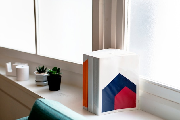 本を持つ家の装飾
