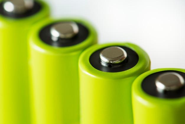 Макрофотография батареи