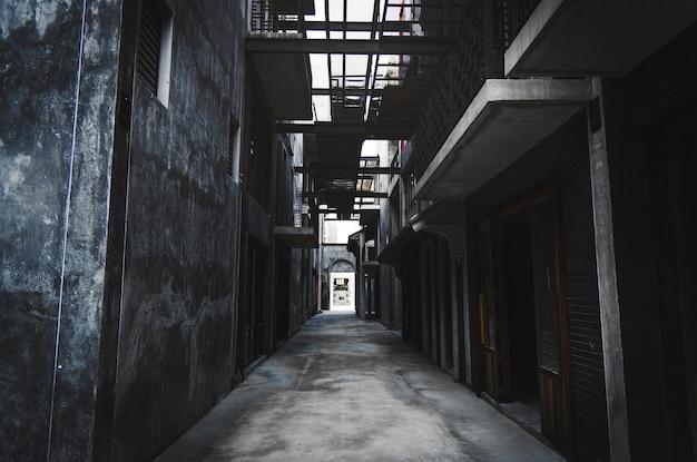 バンコク市内の路地