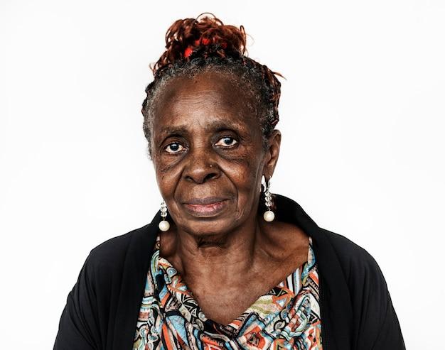 コンゴの女性の肖像