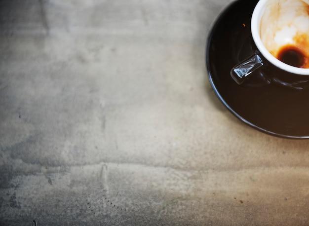 コーヒーカップマグカップのカフェコンセプト