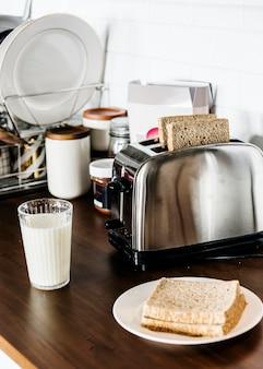 パンとミルク