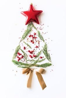 クリスマスの新年の祝賀の装飾のコンセプト
