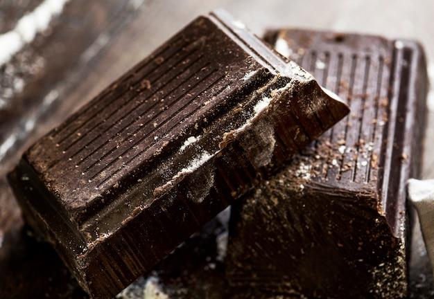 暗い、チョコレート、バー