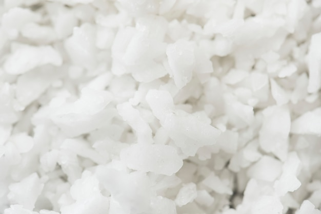 塩のテクスチャの拡大写真