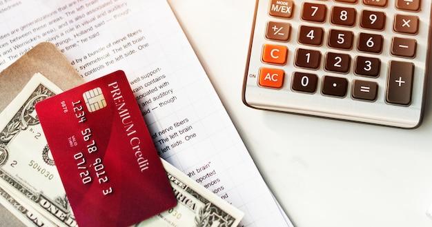 Концепция денежного баланса кредитной дебетовой карты