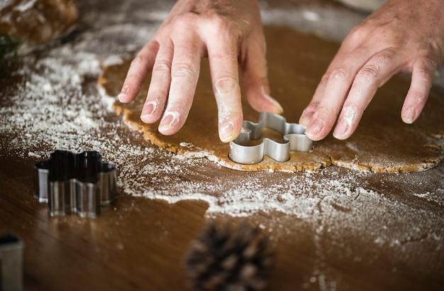 ジンジャーブレッドクッキーの作り方