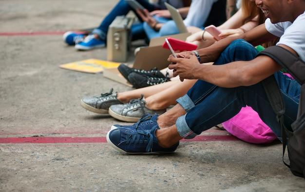 人々の友情の一体性の活動青少年の文化