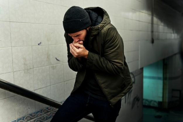 Бездомное чувство холода зимой