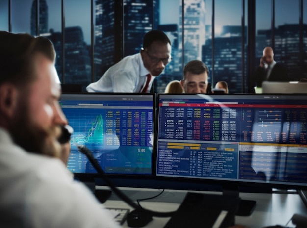 Концепция торговой стратегии для бизнес-команды