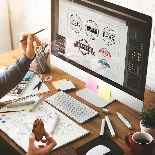 アイデア創造的職業のデザイン