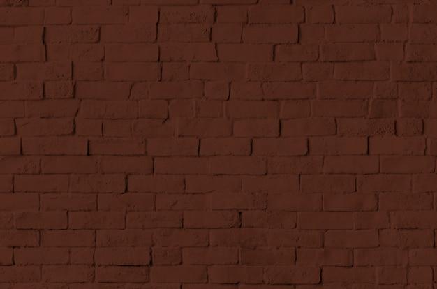 茶色のレンガの壁のテクスチャ背景