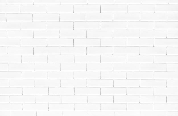 白いレンガの壁のテクスチャ背景