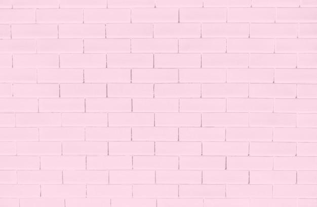 ピンクのレンガの壁のテクスチャ背景