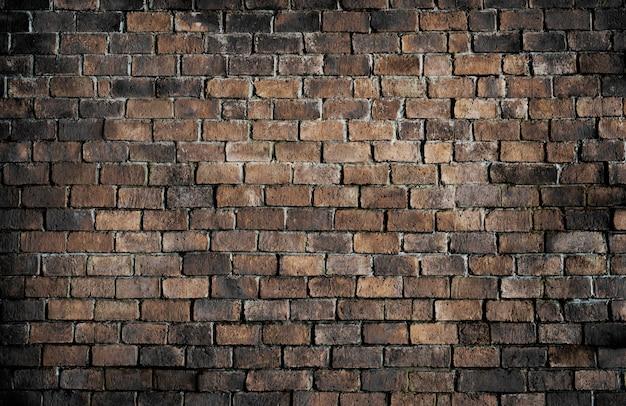 古い質感のレンガの壁の背景