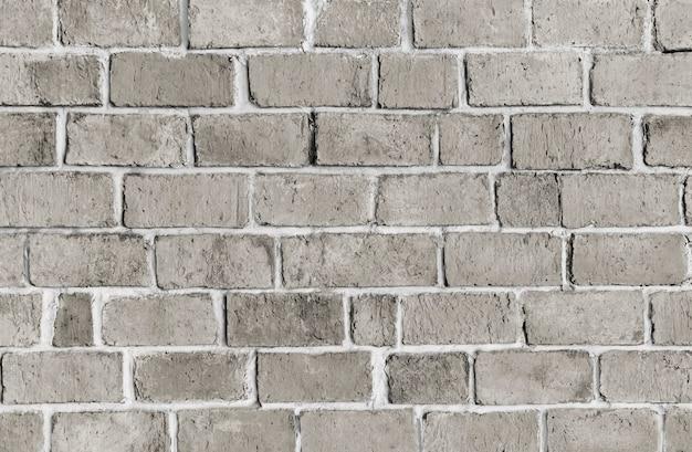 グレーのテクスチャのレンガの壁の背景