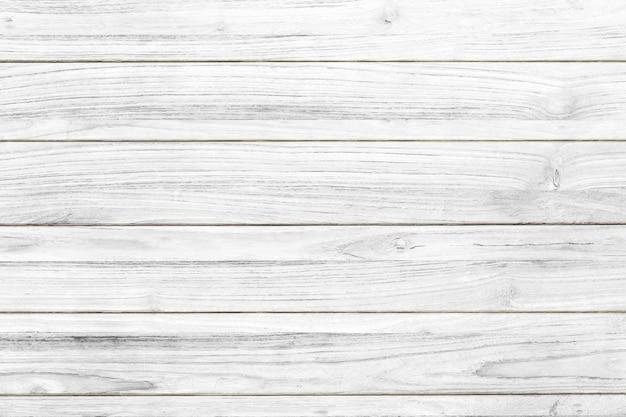 白い木のテクスチャの床の背景