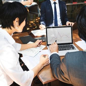 アジアでのビジネス会議