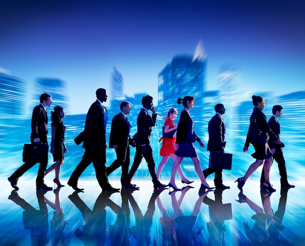 ビジネス人々のコラボレーションチームチームワークプロのコンセプト
