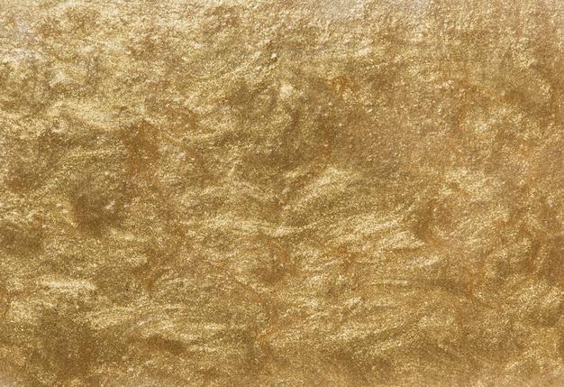メタリックゴールドの背景