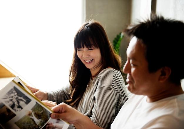日本の夫と妻