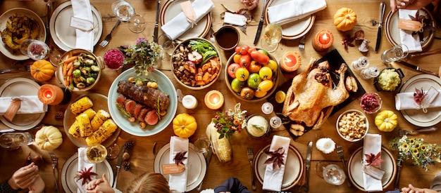 感謝祭のお祝い