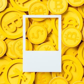 米ドル通貨のお金のシンボル